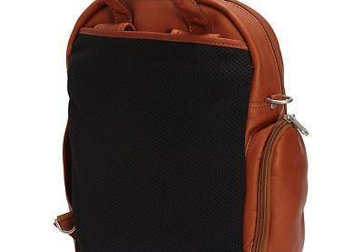 Piel Laptop Bag, Chocolate