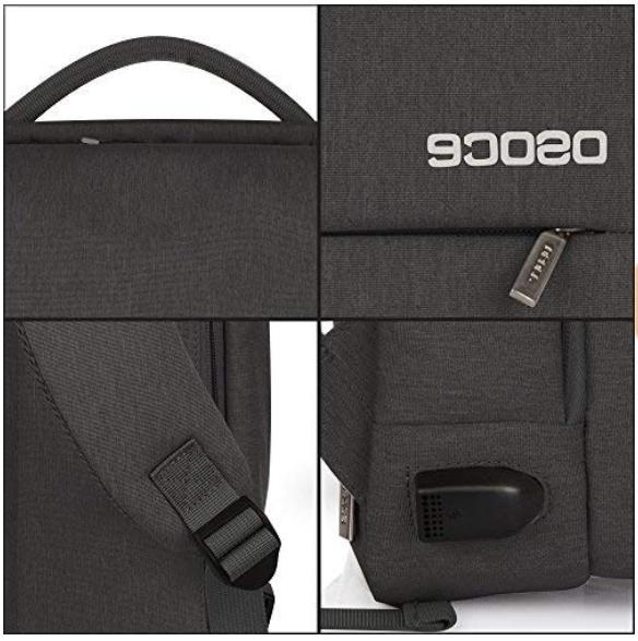 OSOCE Slim Business USB Charging Port Men Women...