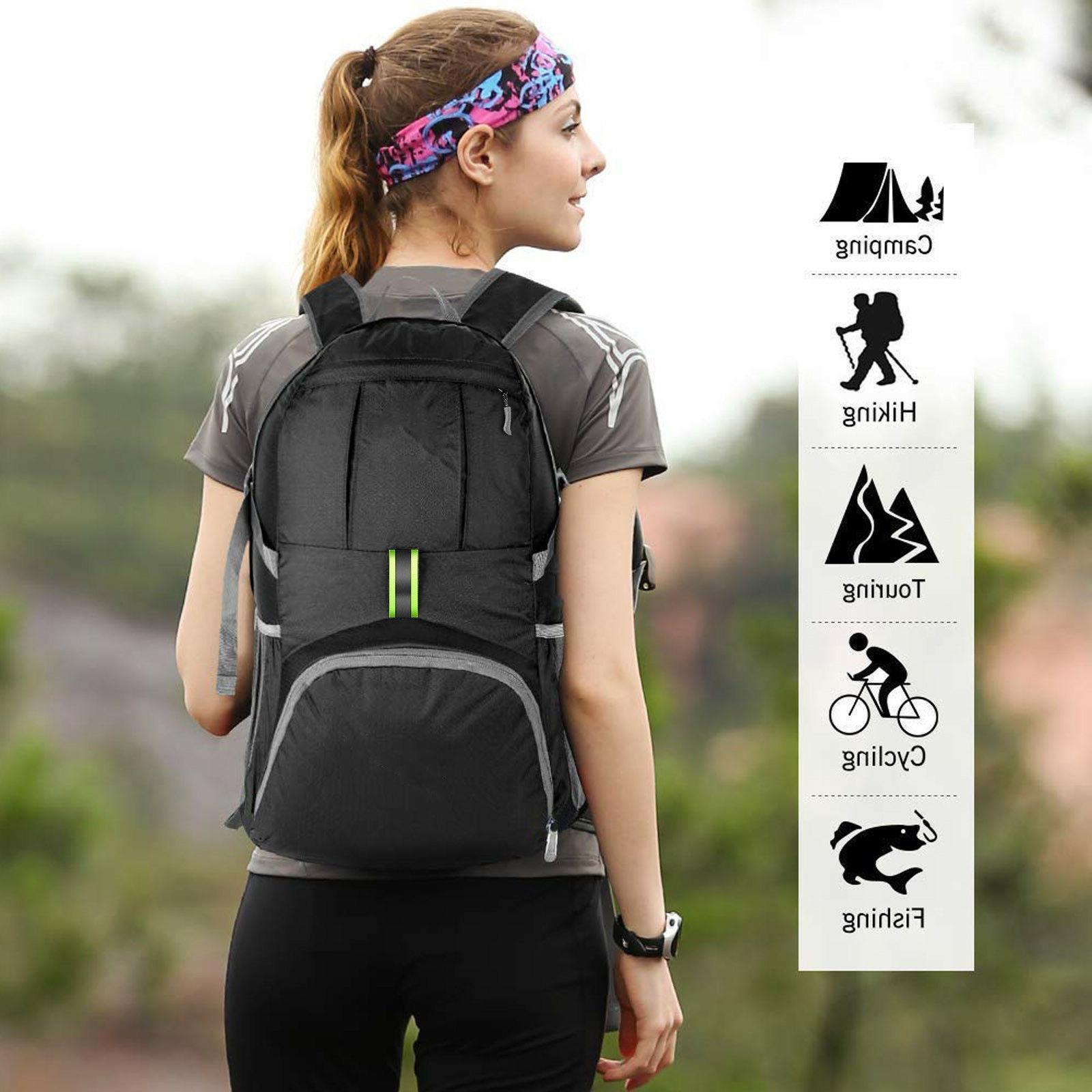 Multifunction Travel Backpack Shoulder Bag 35L