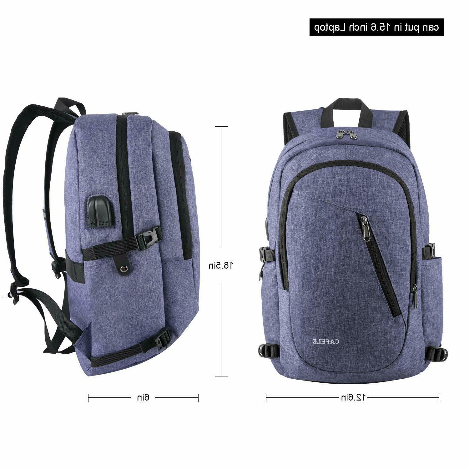 Laptop Travel Computer Backpack Anti Theft 15.6inch WATER
