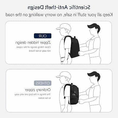 HOMIEE Anti-Theft Travel Backpack