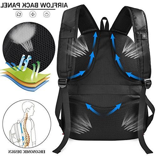 Laptop Backpack Waterproof Large Students Gaming Charging Men Women