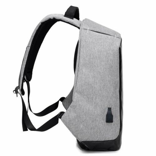 "Laptop Backpack 17"" Anti-theft Notebook Bag"