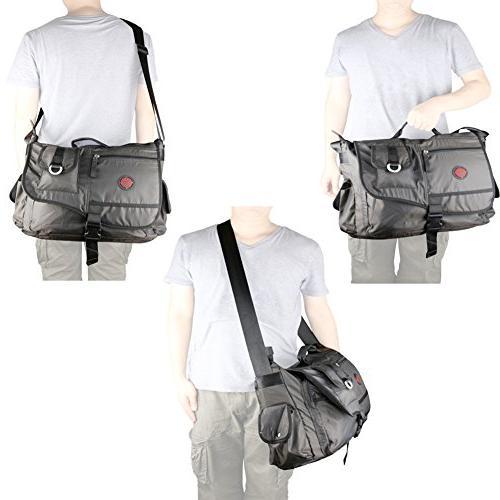 Laptop Messenger Bag, Inch Bag, Vanlison Large Bag