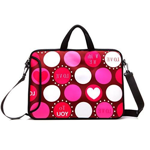 laptop shoulder bag case sleeve