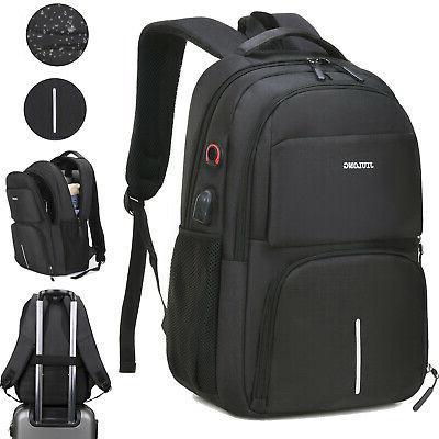 Large Laptop Backpack Waterproof Business Travel Shoulder