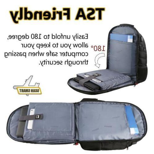 Mancro Laptop Backpack High TSA Luggage Travel