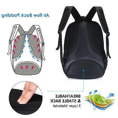 Waterproof 17 inch Backpack School Bag New