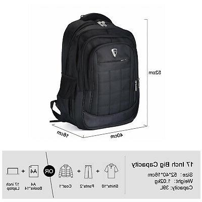 Waterproof inch Laptop Backpack Travel School