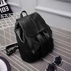 Women's Girl's Leather Backpack Rucksack Travel School Bag S
