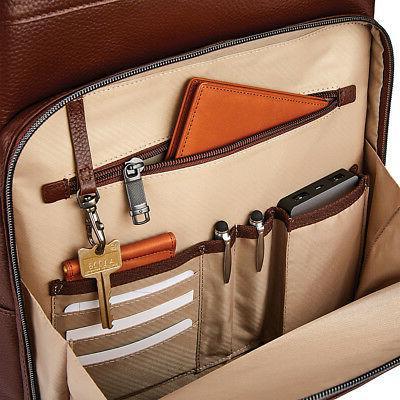 Samsonite Leather Backpack & Laptop Backpack NEW