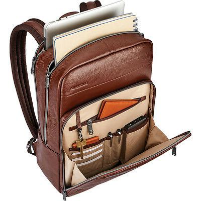 Samsonite Leather Slim Backpack Colors & Laptop Backpack