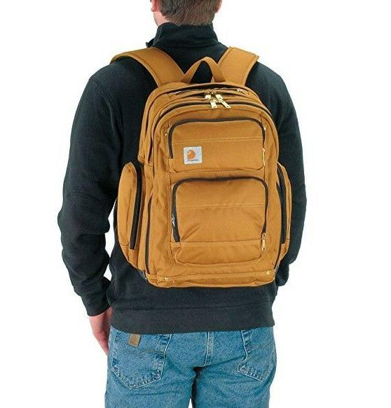 Carhartt Deluxe Backpack with Compartment, Brown