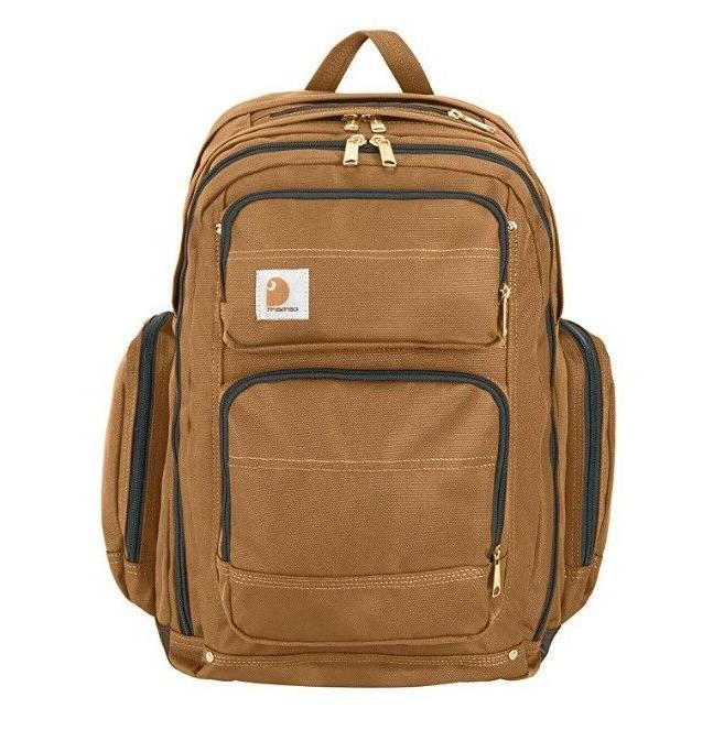 Carhartt Legacy Deluxe Work Backpack with Compartment,