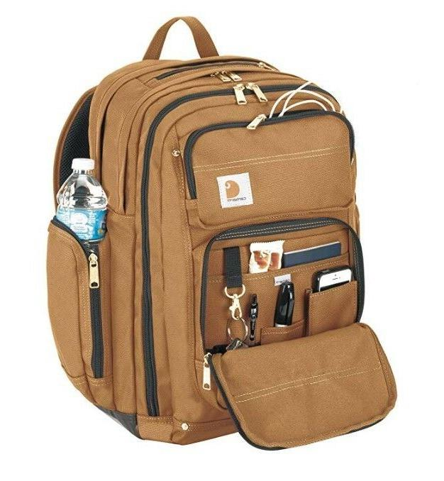Carhartt Backpack with Compartment, Brown