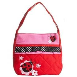 Stephen Joseph Little Girls' Quilted Purse Ladybug One Size