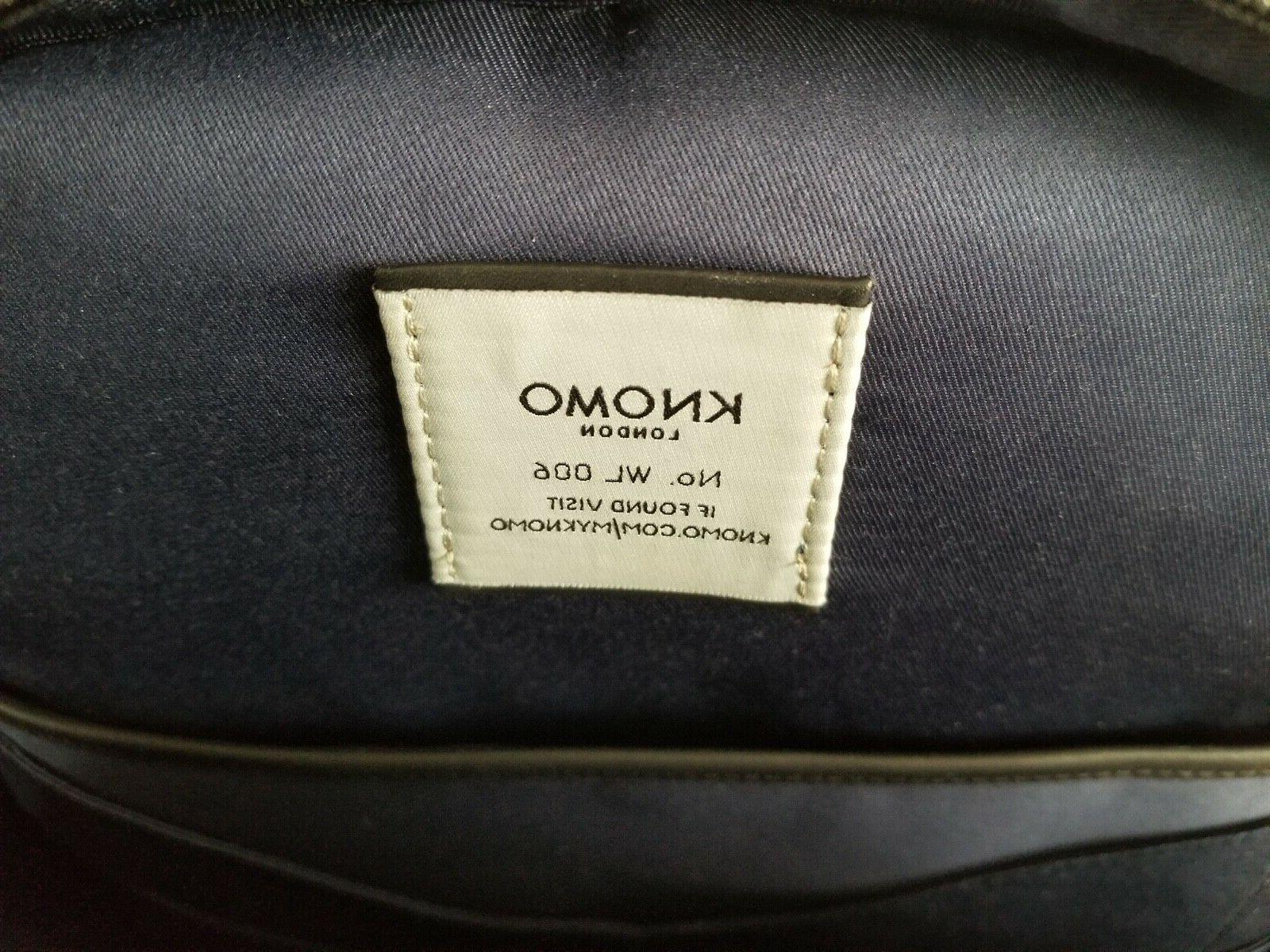 """KNOMO """"Albion' Grain Backpack Tags"""