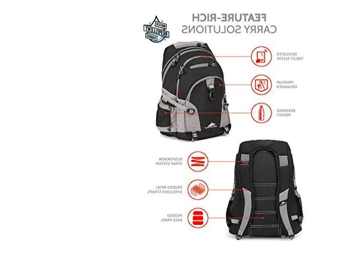 High Sierra Loop Luggage Traveling Daypack