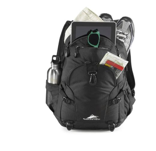 High Sierra Loop Backpack Luggage Black Daypack Boys Girls