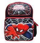 "Marvel Ultimate Spiderman Boys 16"" Canvas Black School Backp"