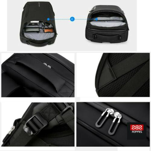 Men Anti-Thief Laptop Backpack School Bag