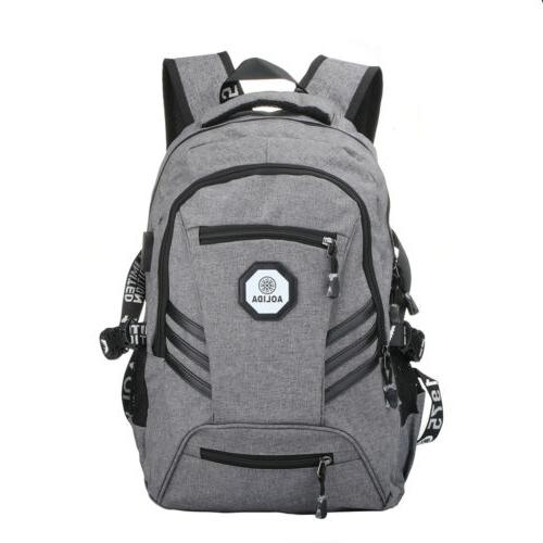 Men Bag Waterproof Backpack School