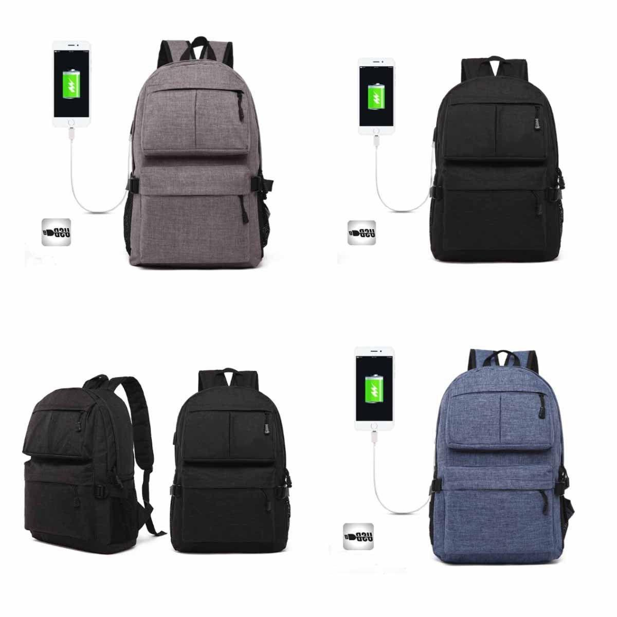 Mens Laptop Backpack Bag Bag Port