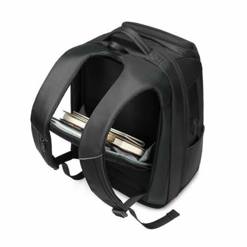 Men Large USB Charging Inch Laptop College Bag