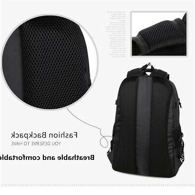 Men Backpack Laptop Handbag Shoulder Bag Handbag Rucksack
