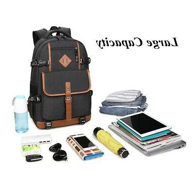Men Waterproof Laptop Shoulder Bag Handbag