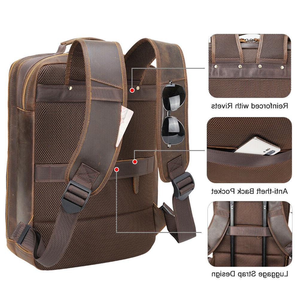 Men Laptop Briefcase Shoulder