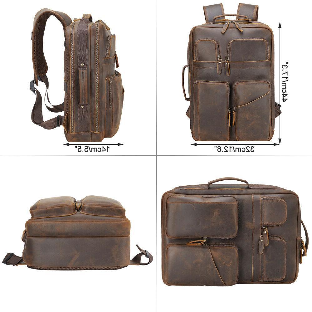 Men Laptop Satchel Shoulder Bag School