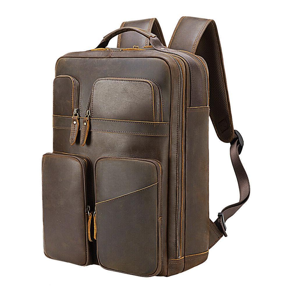 Men Laptop Case Shoulder Bag School