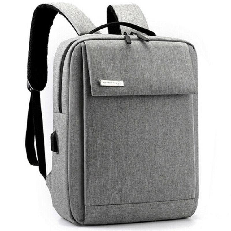 Men Oxford Backpack Business School Rucksack Casual Bags