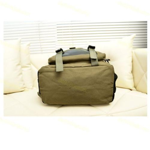 Men Retro Rucksack Travel Laptop Hiking