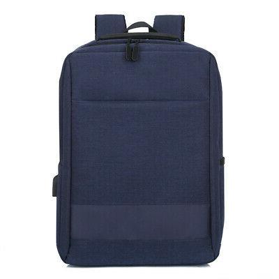 """15.6"""" Backpack USB Mens Business School Shoulder"""