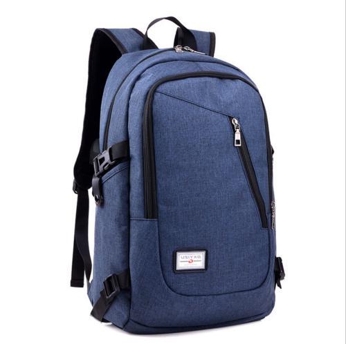 Men's And Women's Laptop Backpack USB Work Travel Bag
