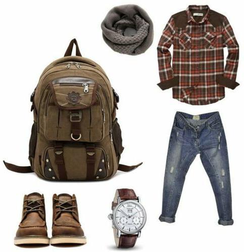 Brand Laptop School Travel Camping Bag