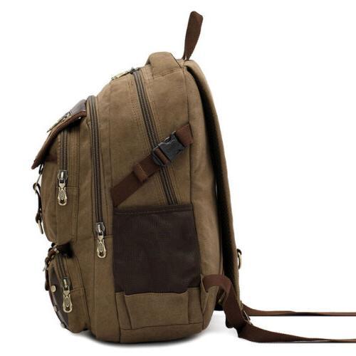 KAUKKO Canvas Brand Backpack Travel Bag