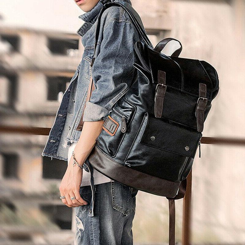 Men's Backpack Shoulder Bag Laptop Bags Weekender Travel Sch