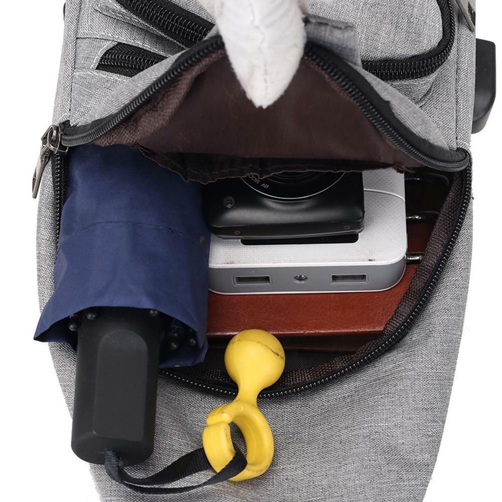 Men's Shoulder Bag Chest Pack Charging Sports