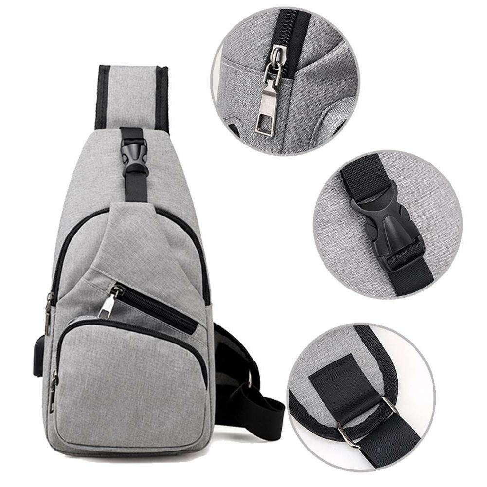 Chest Pack Canvas Charging