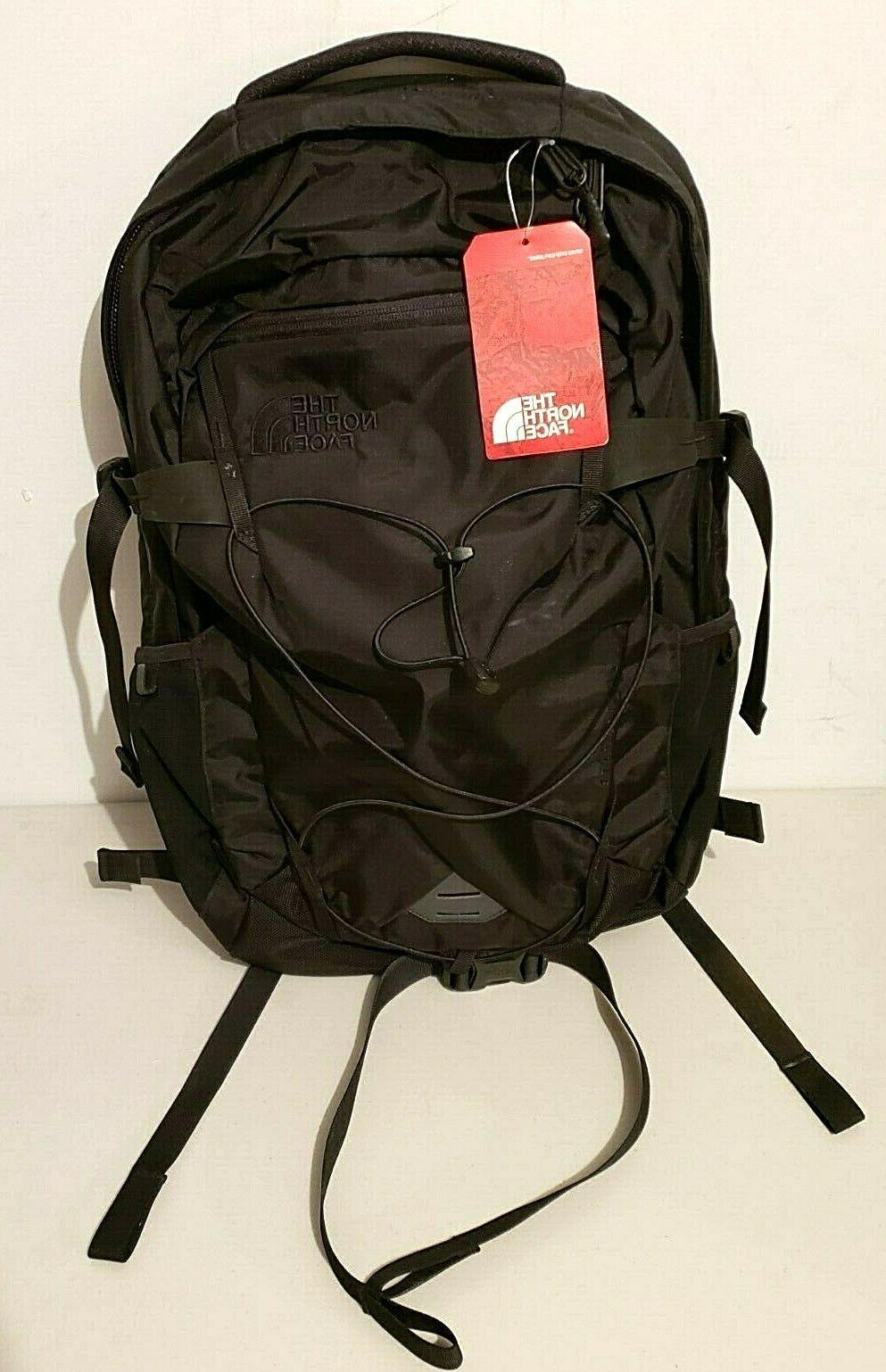 men s solid state laptop backpack tnf