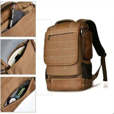 Men Canvas Bag Camping School Outdoor