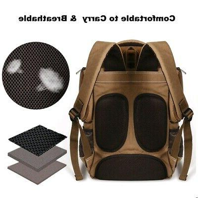 Men Backpack Rucksack Bag Laptop School Outdoor