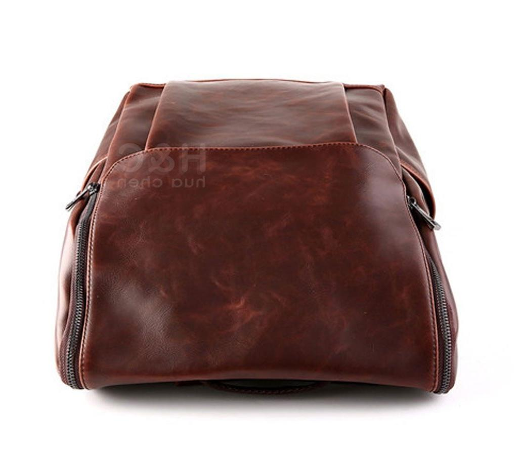 Men's Travel Leather School Laptop