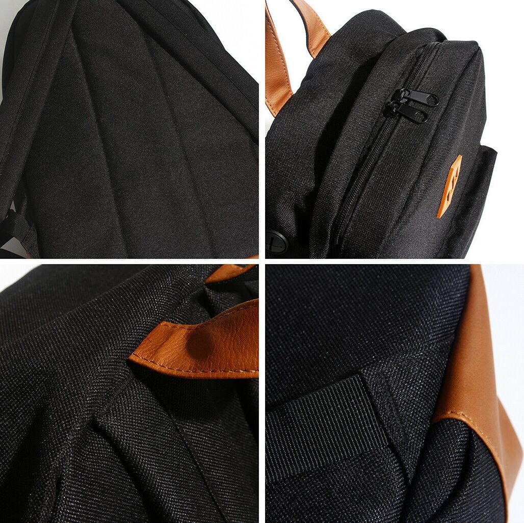Men's Travel Laptop Notebook Shoulder College Bookbag School Bag