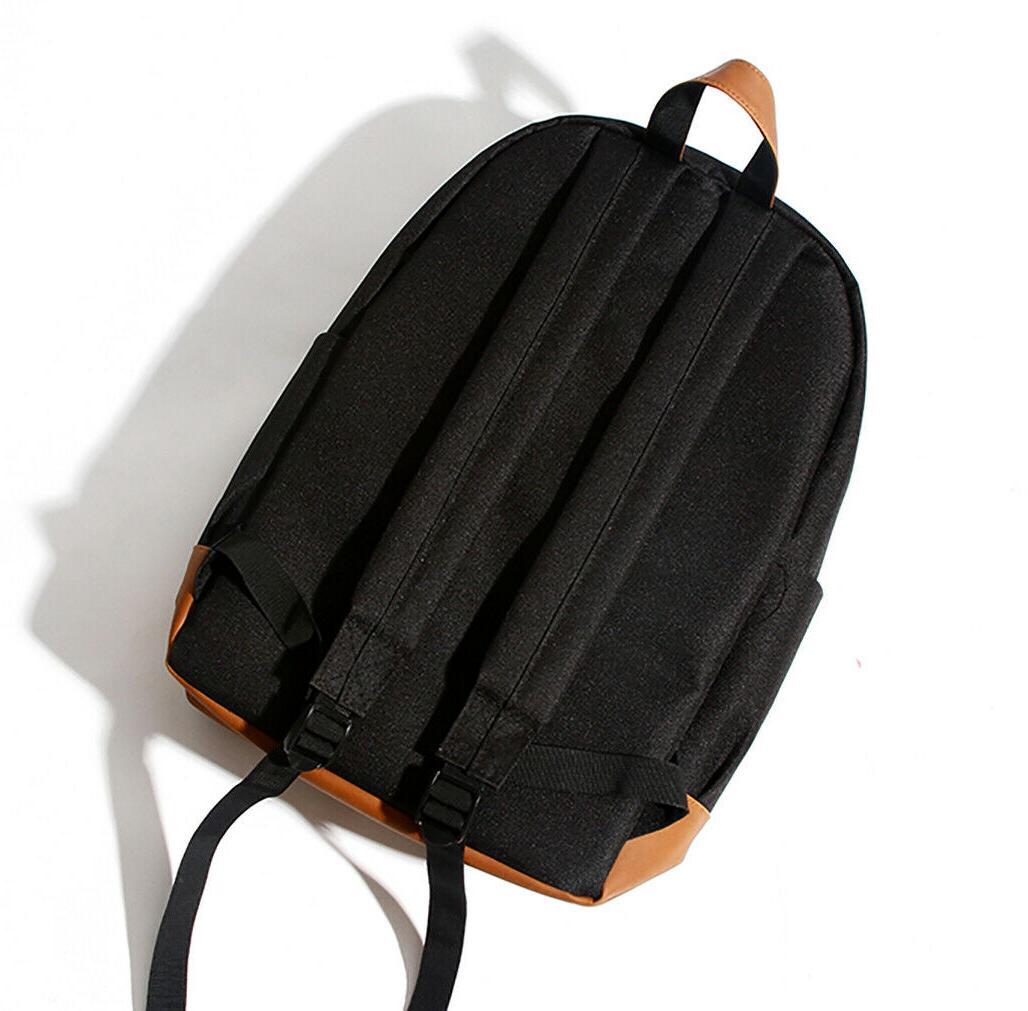 Men's Travel Backpack Notebook Shoulder College School Bag