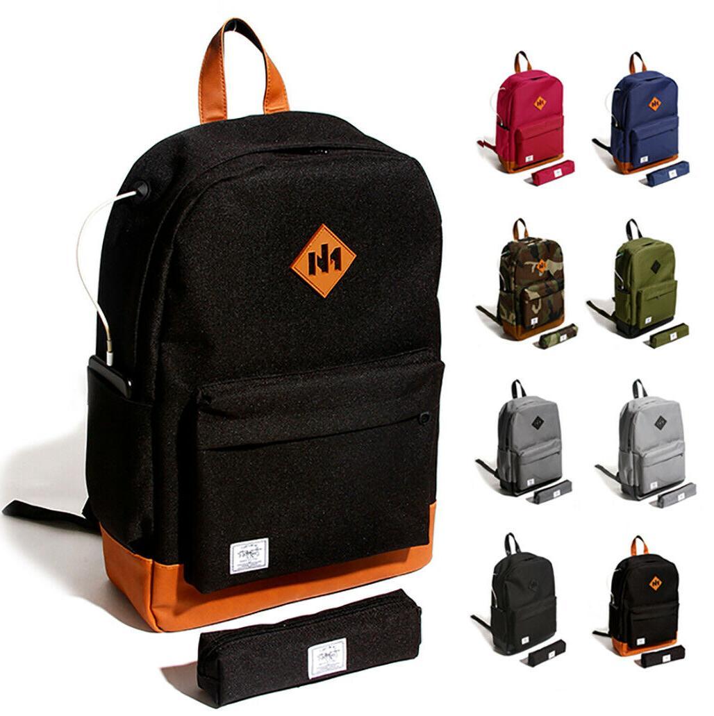men s travel backpack laptop notebook shoulder