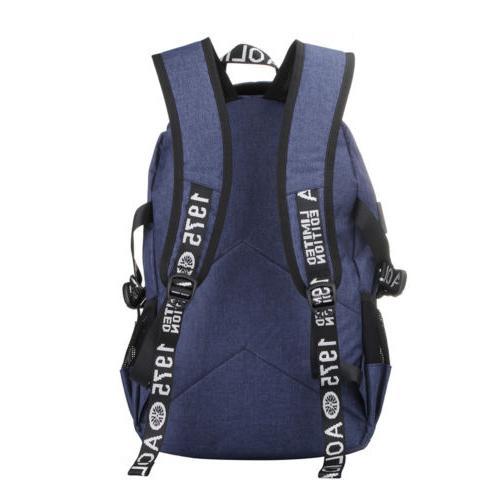 "Men Port 17"" Laptop Bags Travel Backpack"